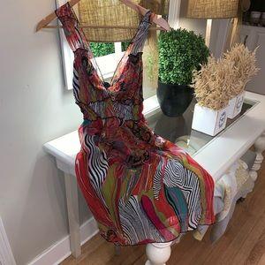 Beautiful Wet  Seal dress.  size M gorgeous colors